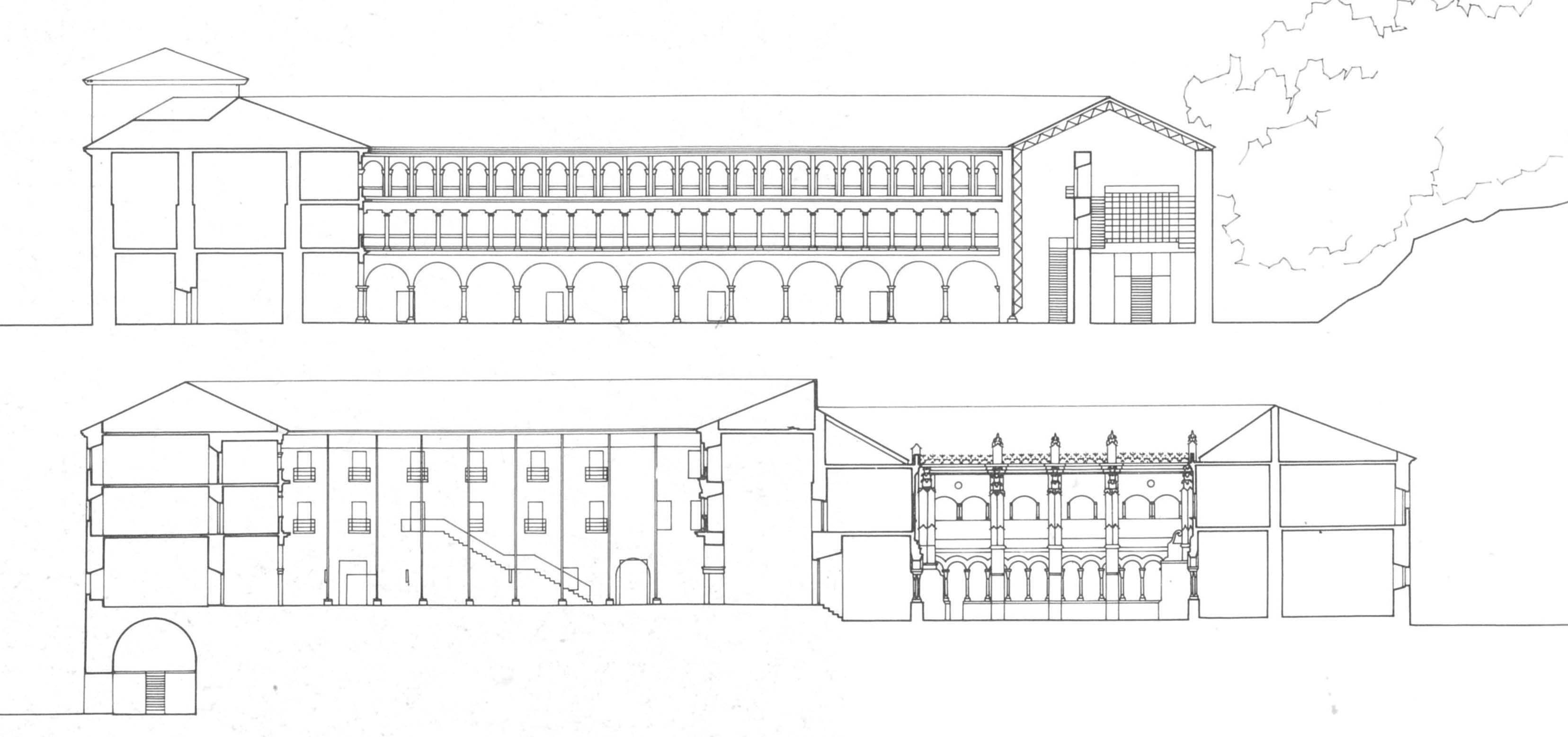 Intervención no mosteiro de Santo Estevo de Ribas de Sil - AG