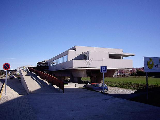 Centro de Saude de Castro Riberas de Lea de Fernando Blanco