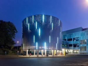 Actuación en las fachadas del Hospital Médico Quirúrgico de Conxo | Cid + Santos