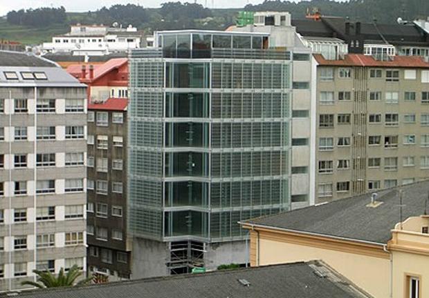 Edificio Administrativo   La Coruña   QRC