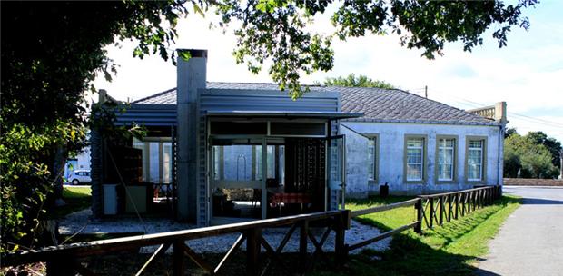 Construcción auxiliar a escola habanera | Luz Paz Agras | XIV Premios COAG Accésit Baixo Coste