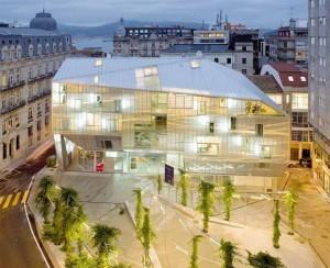 sede do coag de vigo e plaza pueblo gallego arquitectos irisarri piñera