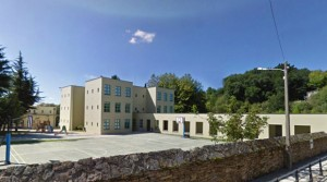 Escuela Pública Raíña Fabiola   Giorgio Grassi   O Carme de Abaixo, Santiago de Compostela