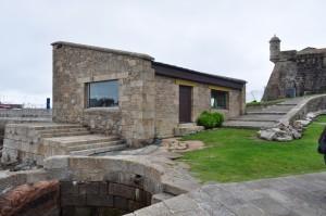 Control acceso Castillo San Anton | Manolo Gallego | A Coruña | Dario Vallina