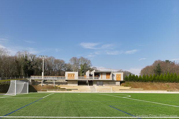 Campo de Fútbol | HH arquitectos | Villalba |  Santos-diez