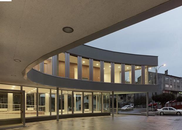 Centro social de Oza | Oza dos Rios | Bals arquitectos | Santos-Díez