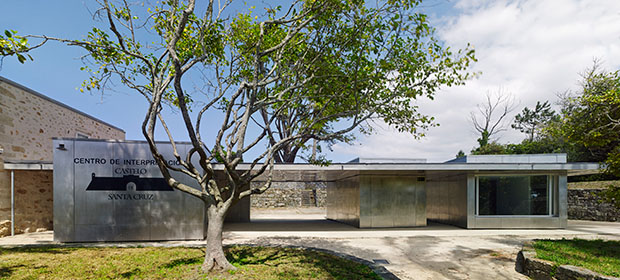 Centro de Interpretación das Fortalezas Transfronteirizas do Baixo Miño rodríguez + pintos